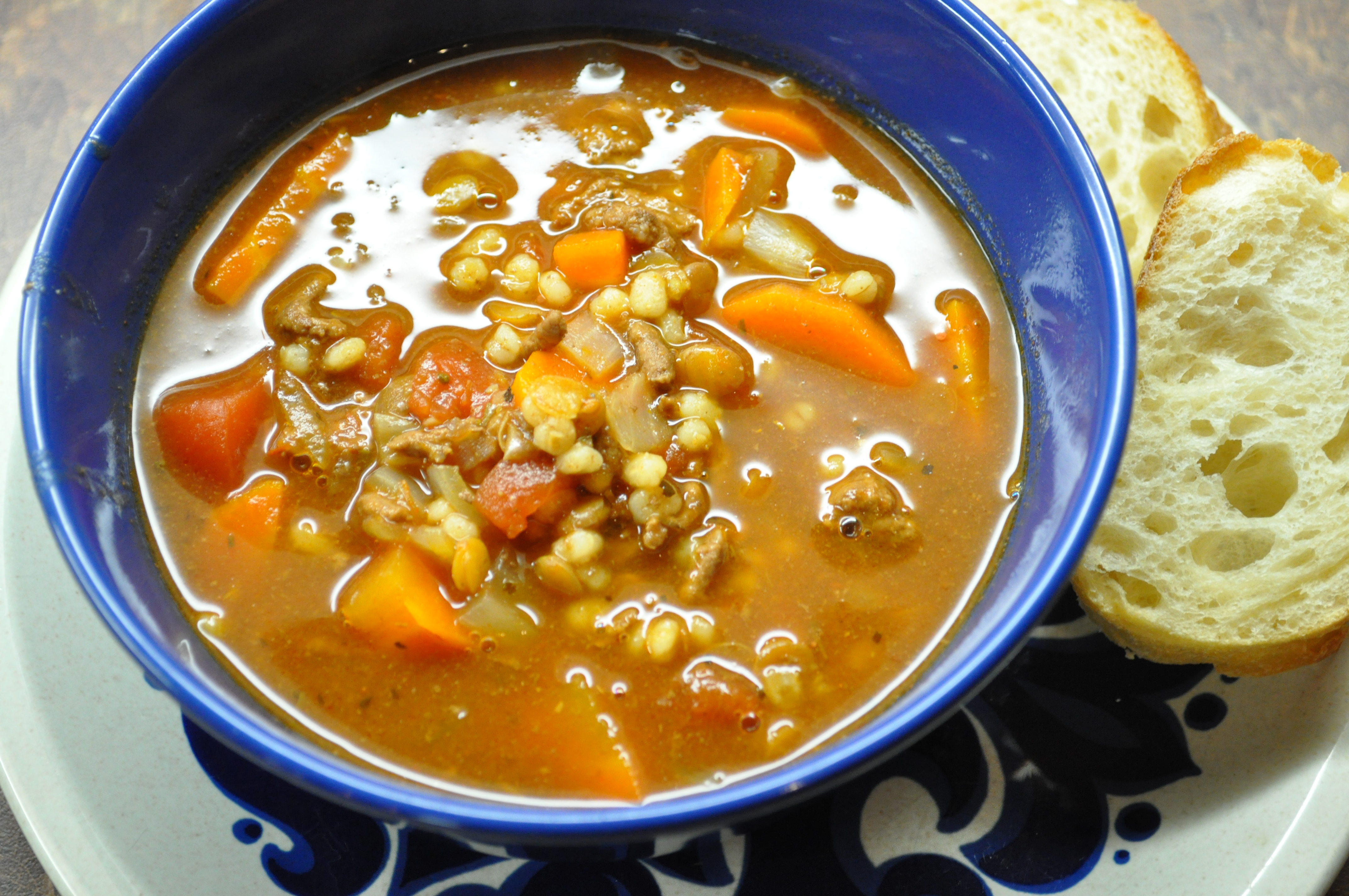 A Family Favorite Nana S Hamburger Soup Once Upon A Recipe