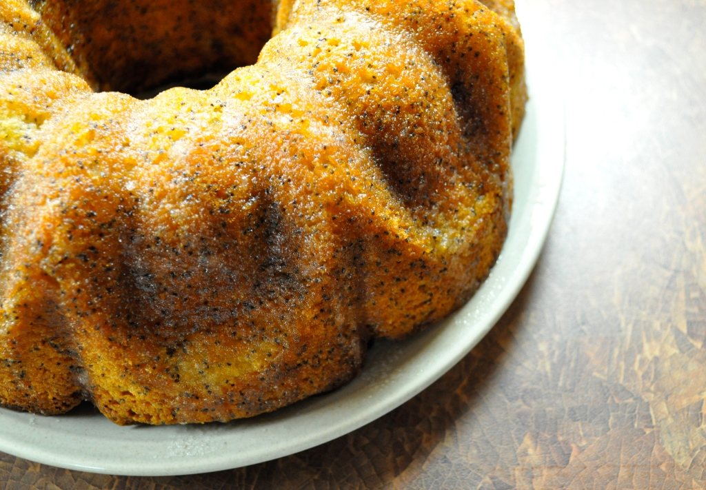 Something Sweet | Lemon Poppy Seed Cake