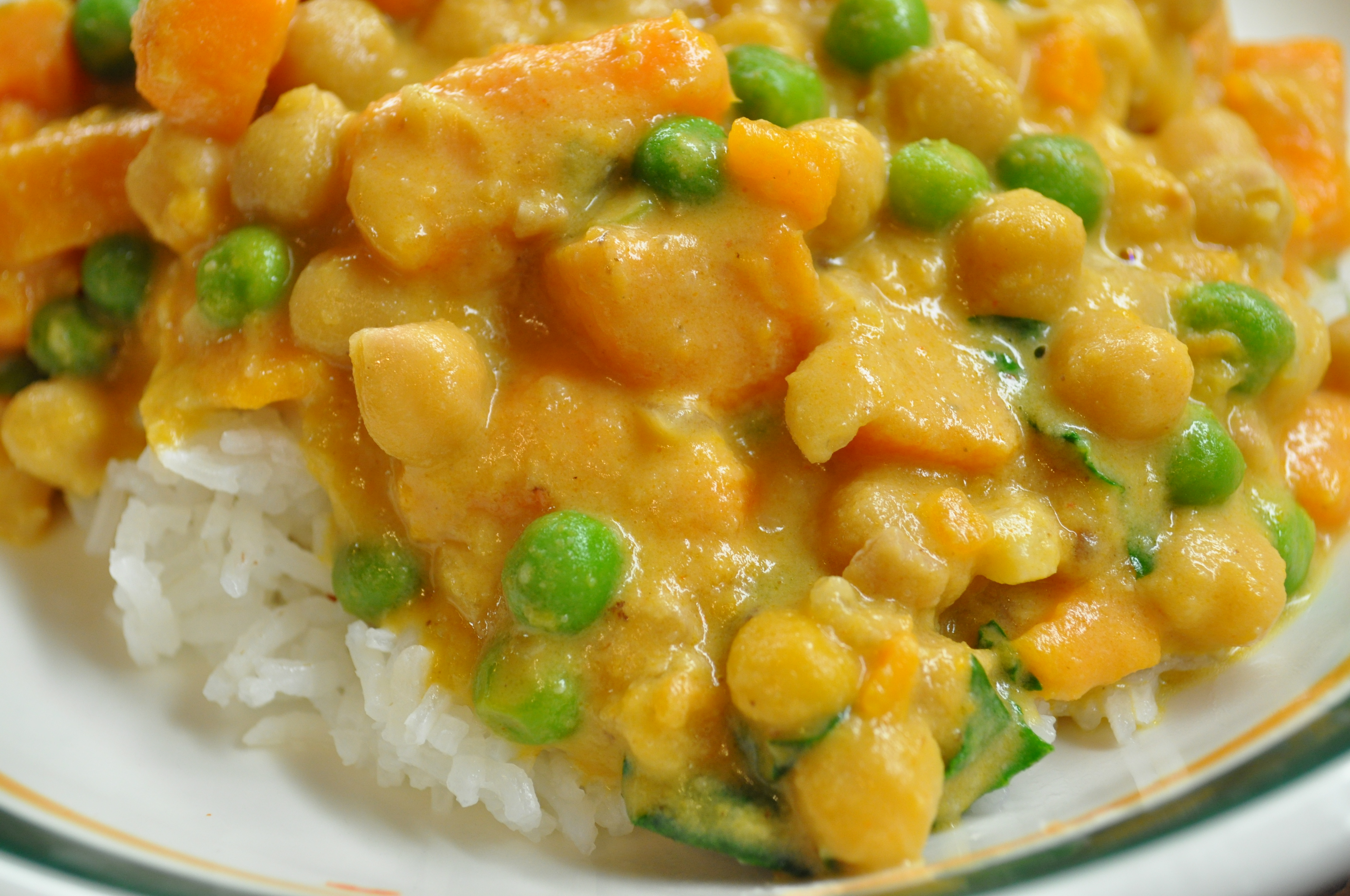 Another Keeper | Sweet Potato Chickpea Curry