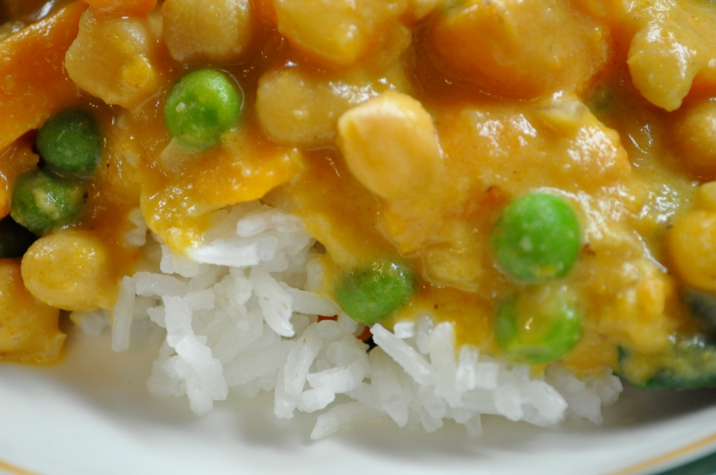 Sweet Potato Chickpea Curry (adapted from The Best of Chef at Home ...