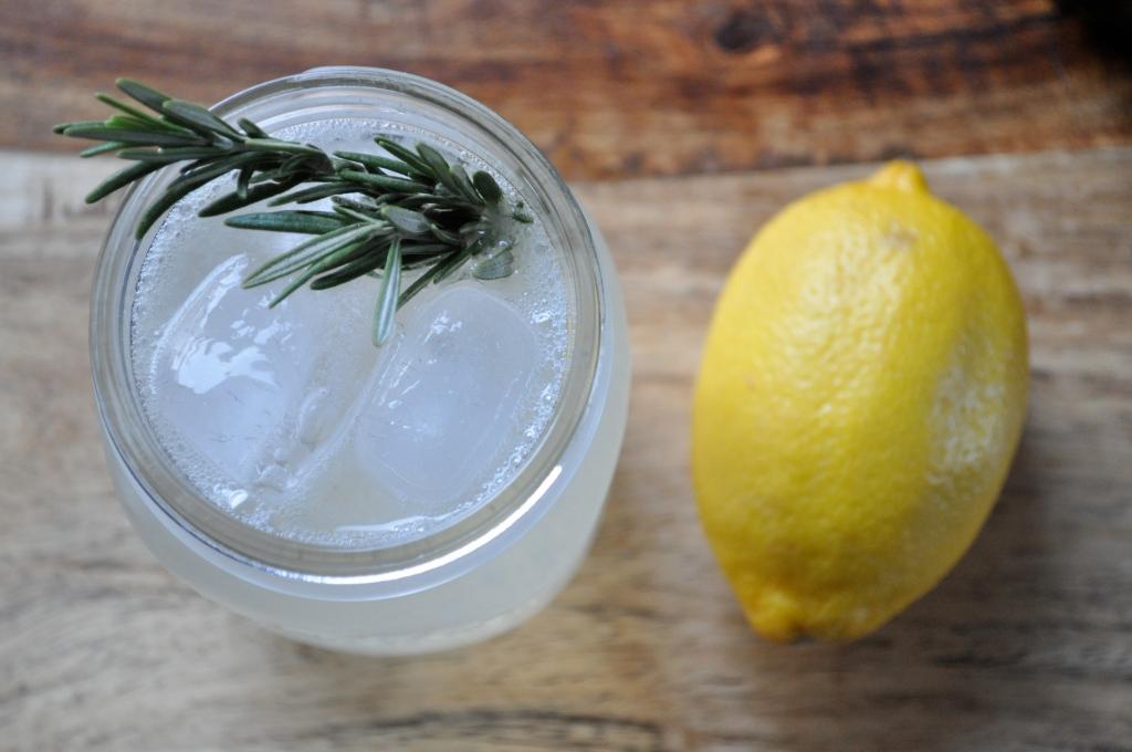 It's Five O'Clock Somewhere | Rosemary Gin Fizz