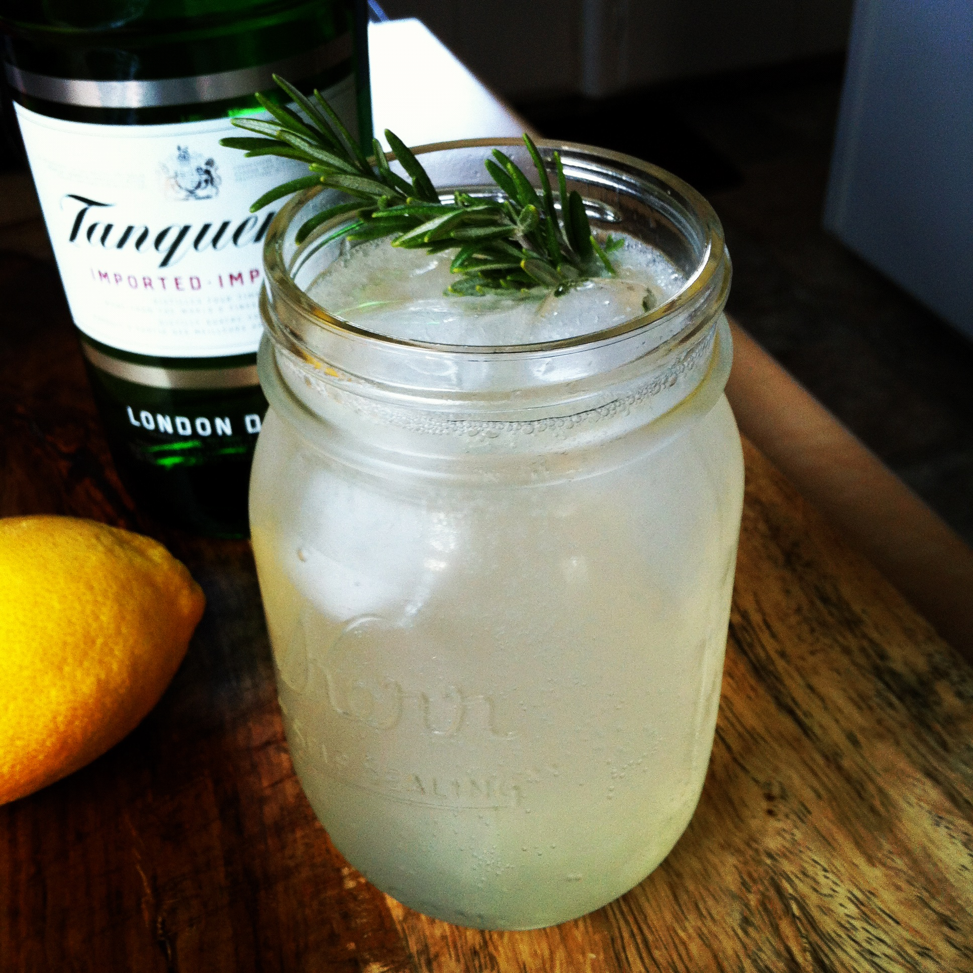It's Five O'Clock Somewhere | Rosemary Gin Fizz