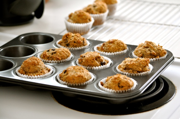Banana Flax Muffins | Once Upon a Recipe